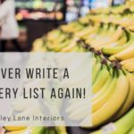 FREE Grocery Master List Printable