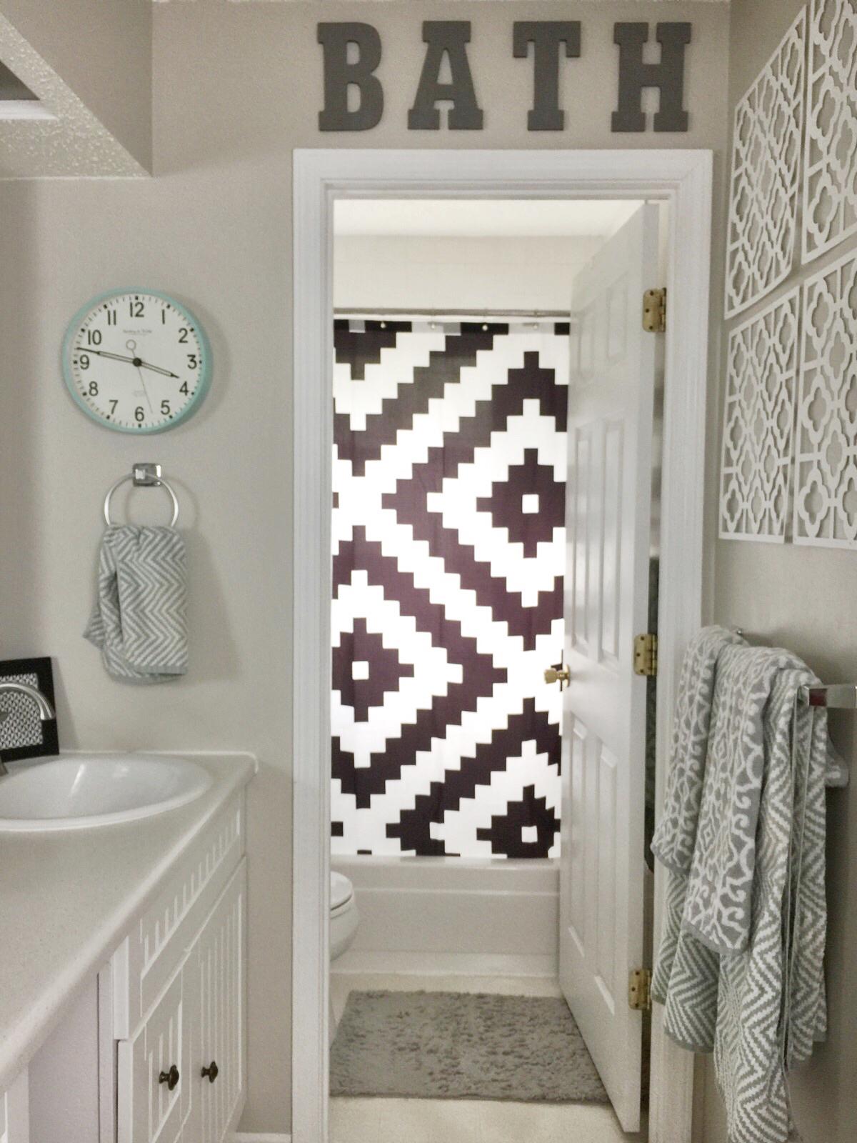Our easy bathroom update birkley lane interiors for Bathroom decor essentials