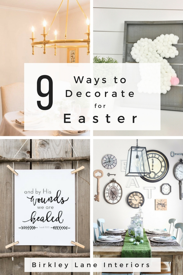 Add Some Farmhouse Style Easter Decor To Your Home With These Stylish DIY Easter  Decorations!