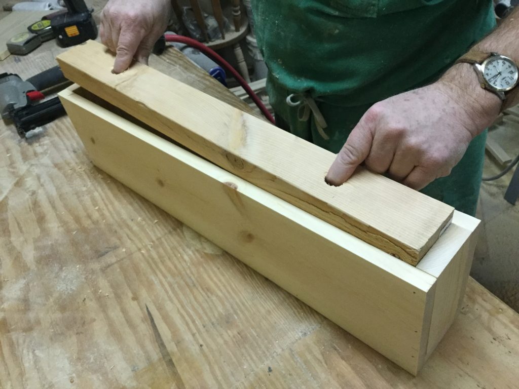 how to build floating steps
