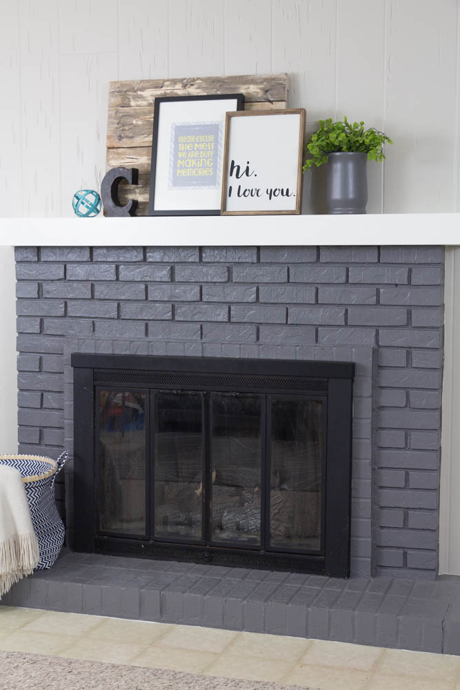 How To Build A Floating Mantle Fireplace