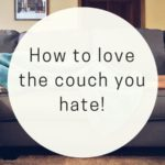 How to Decorate a Couch You Hate