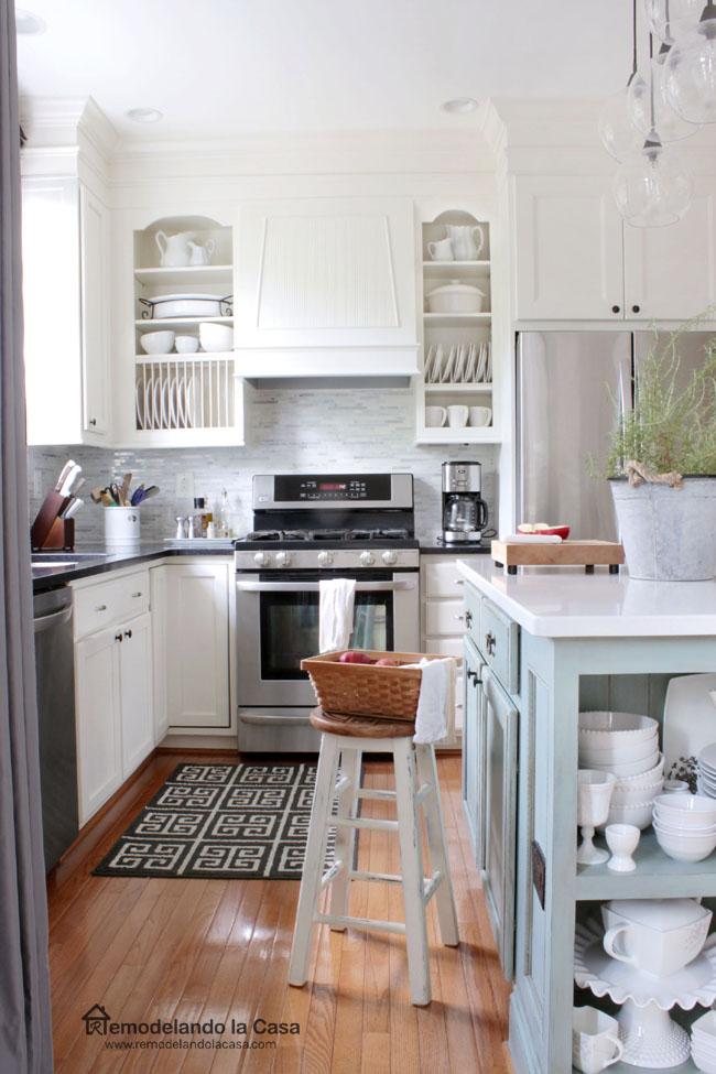 10 Ways To Decorate Above Kitchen Cabinets Birkley Lane