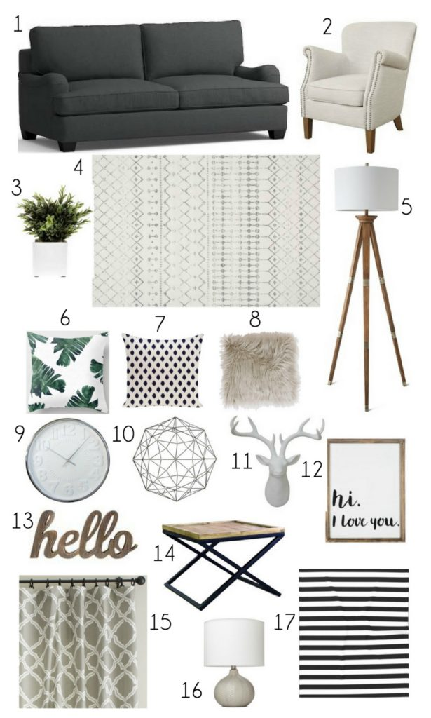 Cozy Living Room Mood Board Birkley Lane Interiors