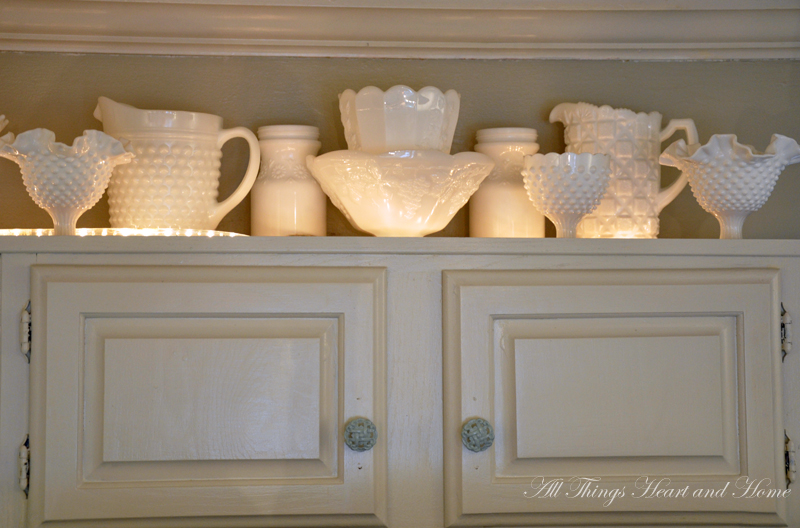 10 Ways to Decorate Above Kitchen Cabinets | Birkley Lane ...