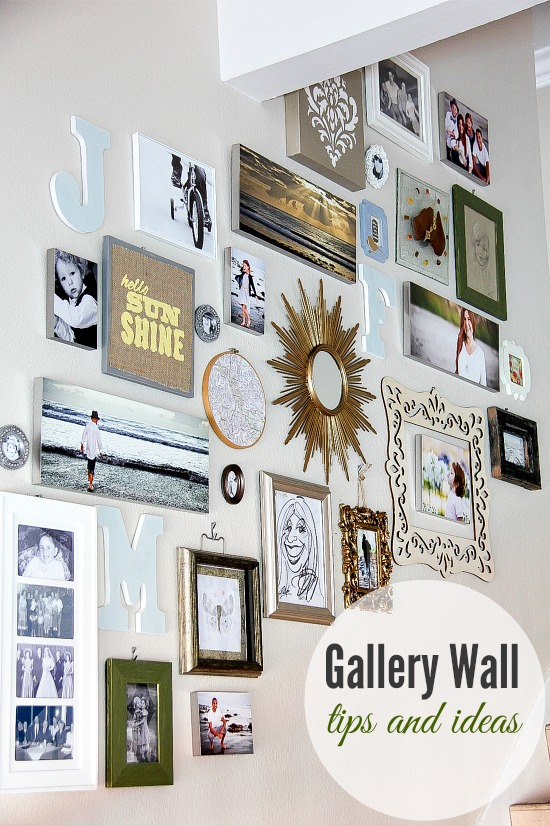 40 gallery wall ideas birkley lane interiors all things home. Black Bedroom Furniture Sets. Home Design Ideas