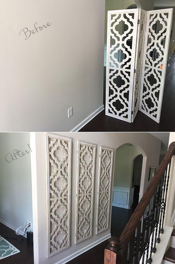 Large wall decor, large wall art, large family photos, big blank wall ideas, big blank wall living room, how to decorate large walls, large blank wall decor, affordable large wall art