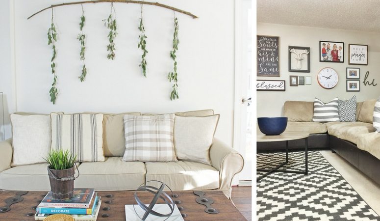 12 Affordable Ideas for Large Wall Decor