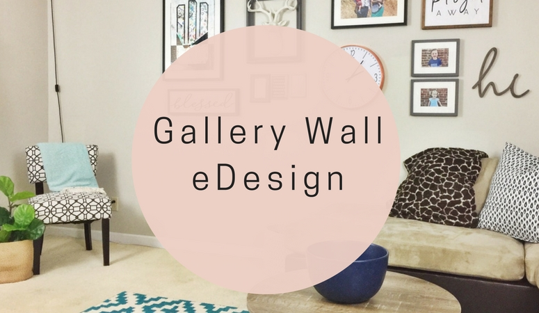 Gallery wall, gallery wall ideas, gallery wall layout, gallery wall living room, how to do a gallery wall, how to create a gallery wall, gallery wall edesign