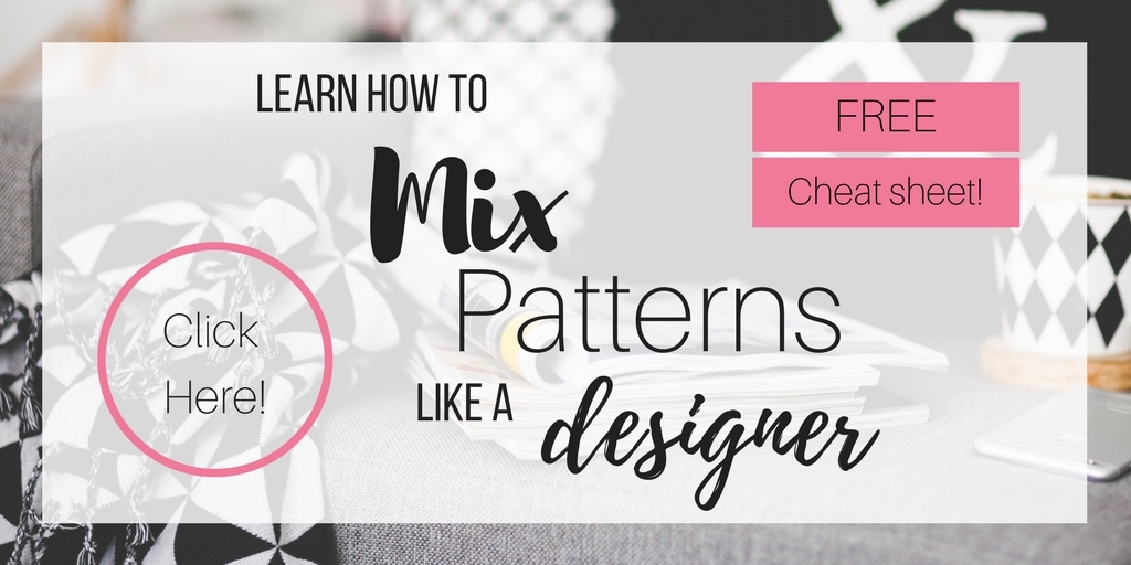how to mix patterns, how to mix pillows