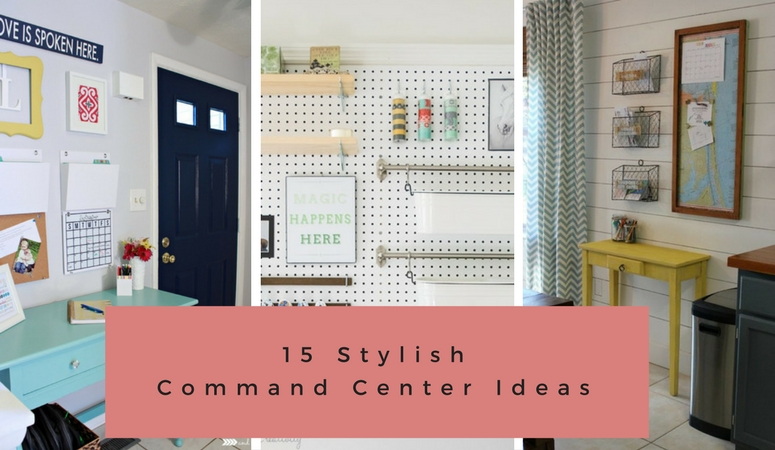15 Stylish Command Center Ideas