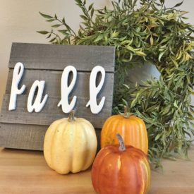 DIY Fall Farmhouse Decor Craft