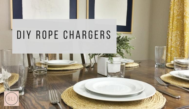 DIY Jute Rope Chargers