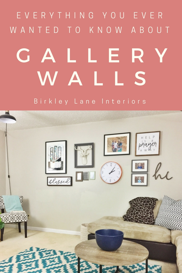 Everything you want to know about gallery walls is just a click away!  I'm sharing my gallery wall how to and you'll be able to walk away will lot's of ideas, ready to plan your next gallery wall (or fix the one you hate)! #gallerywall #walldecor #homedecor #decoratingideas