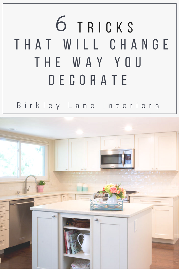 I'm sharing my best secrets and tips for how to decorate your house!  You won't want to miss out on these amazing interior decorating ideas, most of which you can do on a low budget!  Bonus! #decoratingideas #decorateonabudget #interiordecorating d#decoratingtips