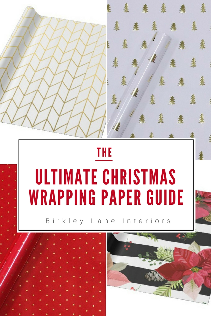 Take your Christmas gifts to the next level and go beyond your regular wrapping paper this year!  Find cute and stylish Christmas wrapping paper all in one spot!  With tons of fun patterns that are creative and unique, to simple and classic ideas, you'll love your holiday wrapping paper this year! #christmas #wrappingpaper #christmasgifts #shoppingguide #holidaywrappingpaper #cutechristmasgifts
