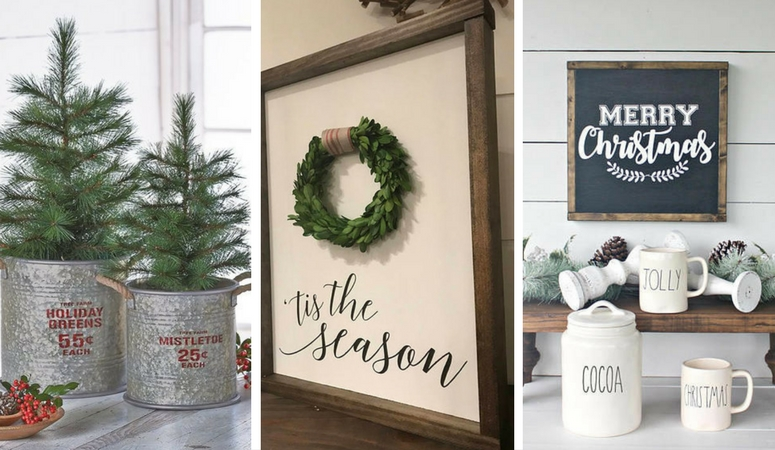 Holiday Home Decor Ideas Part - 50: Stop Wondering How To Decorate Your Home For Christmas! Iu0027ve Gathered 50  Christmas