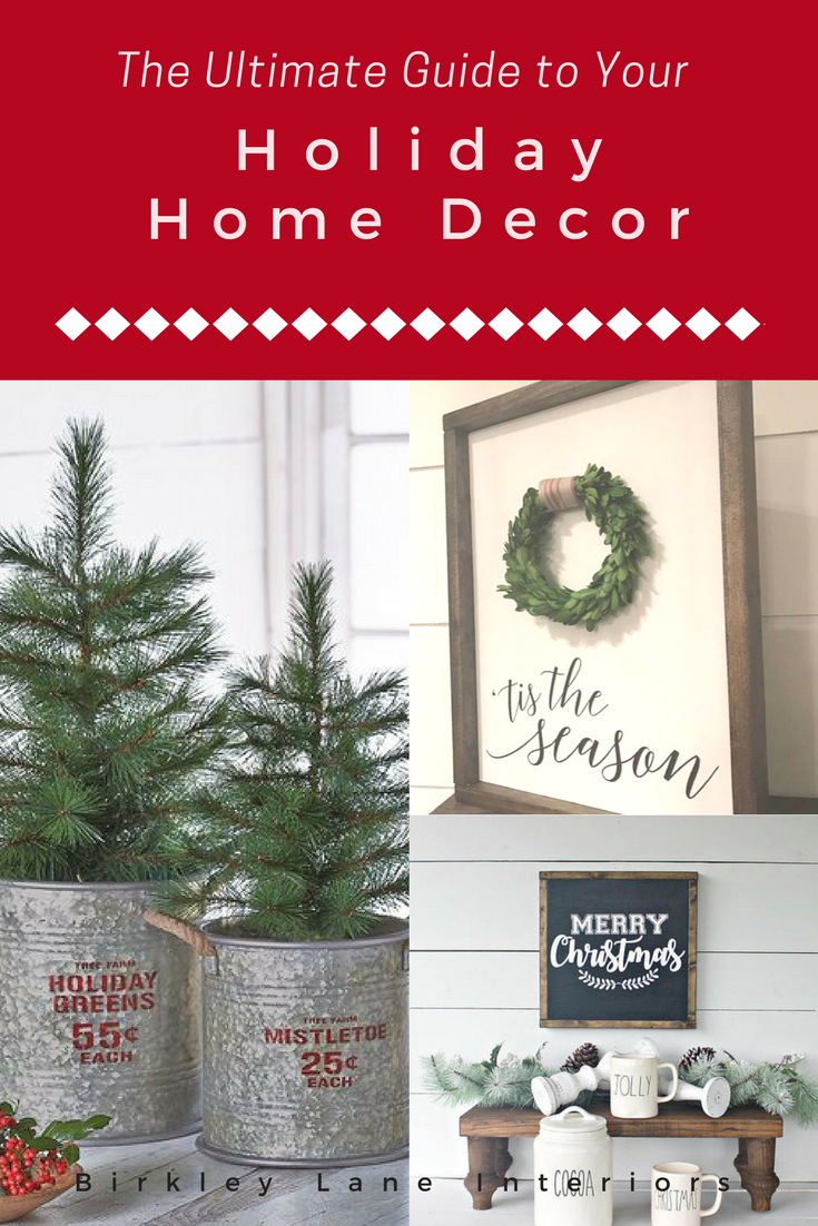 Stop wondering how to decorate your home for Christmas!  I've gathered 50 Christmas decoration ideas that will refresh your holiday home decor!  There are so many favorites to choose from! #christmas #christmasdecor #christmasdecorationideas #shoppingguide #holidayhomedecor