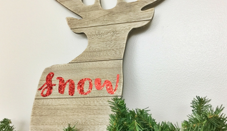 DIY Deer Christmas Decoration
