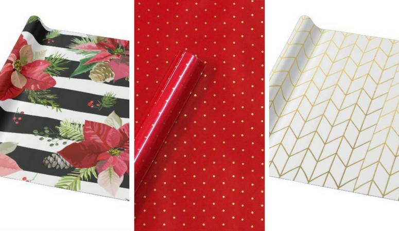 Christmas Wrapping Paper Done Stylishly