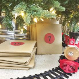 DIY Galvanized Christmas Tree Collar for $20!