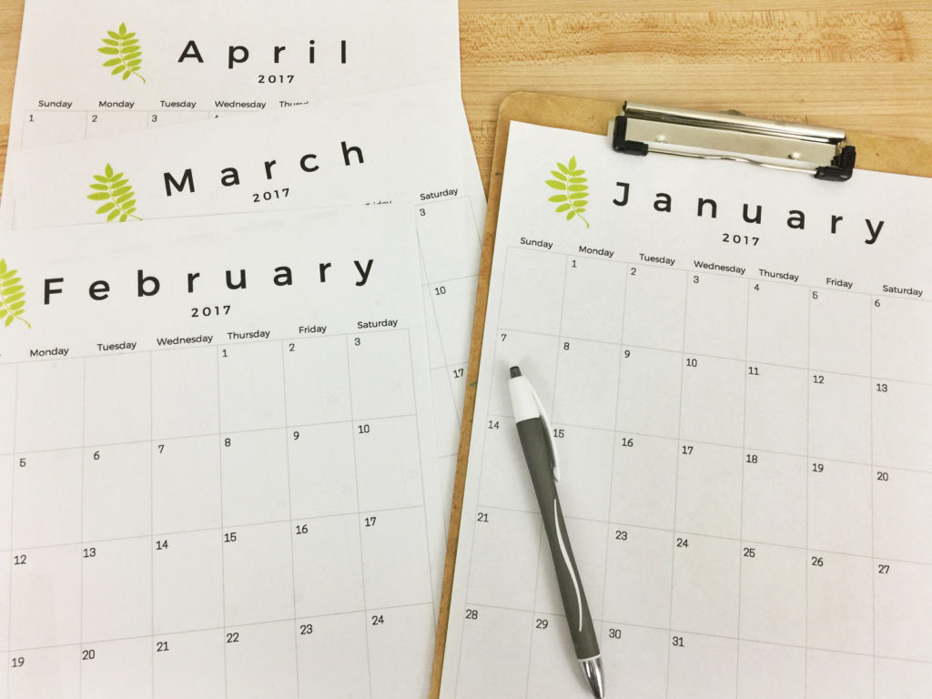 Are you looking for a cute, free, printable 2018 calendar? Then stop here friend! I've created a printable 2018 calendar by month that you can download for free! It's a modern farmhouse style, with clean simple lines that you'll love using to stay organized! #freeprintable #2018 #calendar #planner #calendartemplate #free #2018calendarprintable