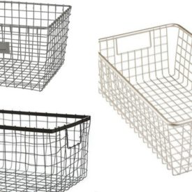 Baskets for Organizing Refrigerator and Pantry